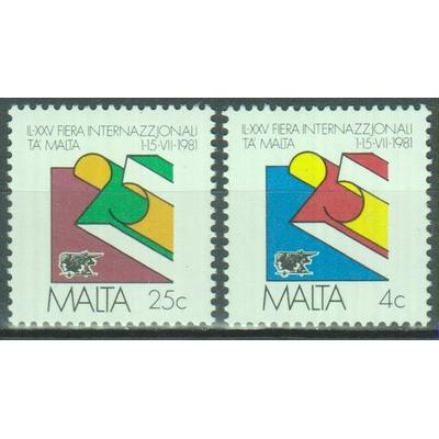 Malte - Foire - yt.618/19 neufs ** - Cote €1.50