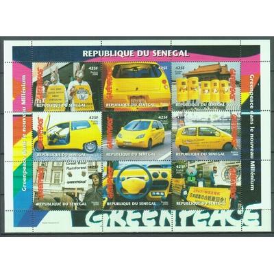 Sénégal - Greenpeace - Feuillet neuf ** de 2000