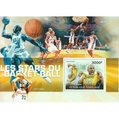 Togo - Basket-Ball - Feuillet neuf ** de 2010
