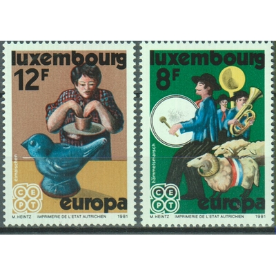 Luxembourg - Europa - yt.981/82 neufs ** - Cote €3