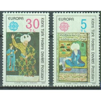 Chypre Turc - Europa - yt.73/74 neufs ** - Cote €4