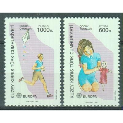 Chypre Turc - Europa - yt.226/27 neufs ** - Cote €5