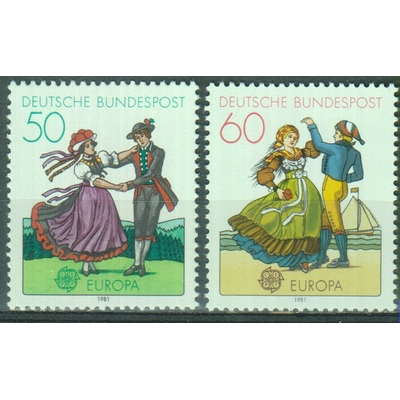 Allemagne - Europa - yt.928/29 neufs ** - Cote €2.50