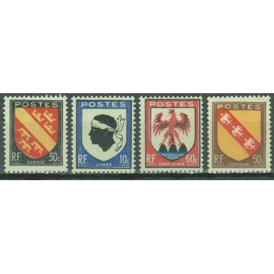 France - Armoiries - yt.755/58 neufs ** - Cote €0.60