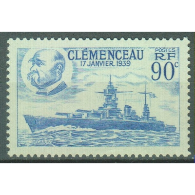 France - Clemenceau - yt.425 neuf ** - Cote €1