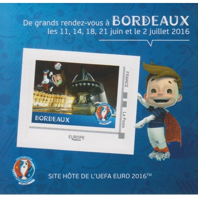 France - Coupe de l'UEFA 2016 neuf ** - Bordeaux