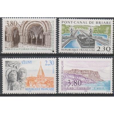 France - Tourisme - yt.2657/60 neufs ** - Cote €6