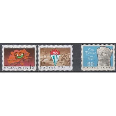Hongrie - Sélection de timbres neufs ** - Cote €2.70