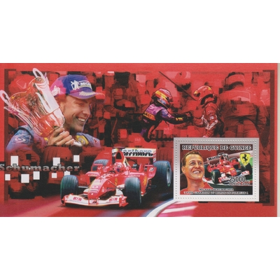 Guinée - Formule 1 / Schumacher - Feuillet neuf ** de 2006