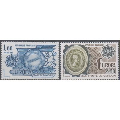 France - Europa - yt.2297/98 neufs ** - Cote €2.75