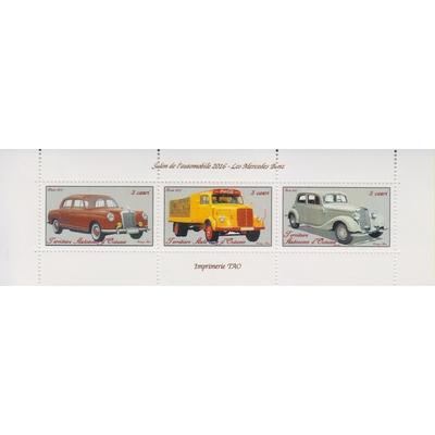 Automobiles Mercedes Benz - Territoire Autonome d'Océanie