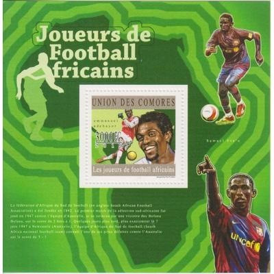 Comores - Football - Feuillet neuf ** de 2010