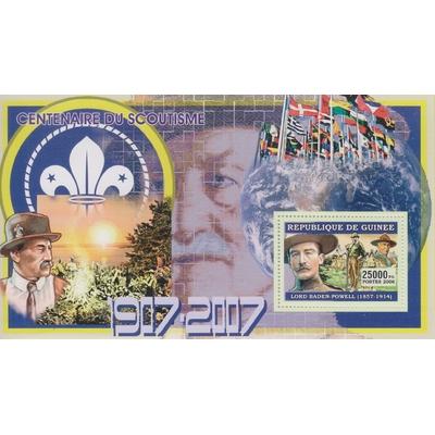 Guinée - Scoutisme - Feuillet neuf ** de 2006