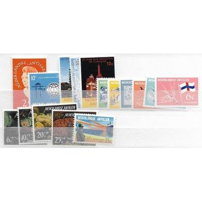 Antilles Neerlandaises - Année complète 1965 neuve ** - Cote €7.85