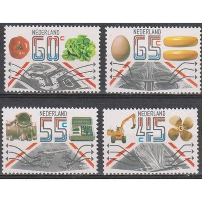 Pays Bas - Exportations - yt.1159/62 neufs ** - Cote €3.25