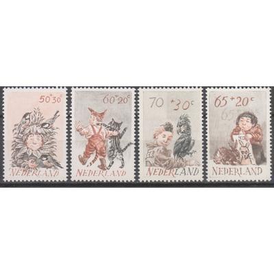Pays Bas - Enfance - yt.1193/96 neufs ** - Cote €5