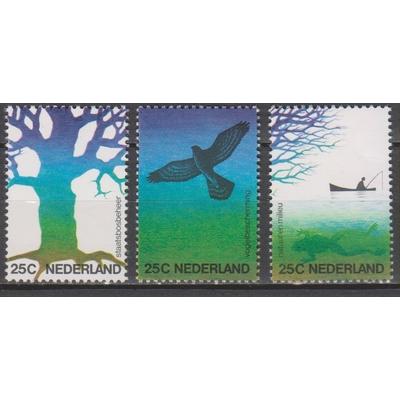 Pays Bas - Nature - yt.994/96 neufs ** - Cote €6
