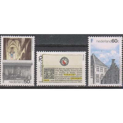 Pays Bas - Anniversaires - yt.1269/71 neufs ** - Cote €3
