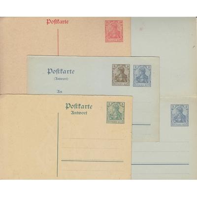 Allemagne - Entiers-postaux