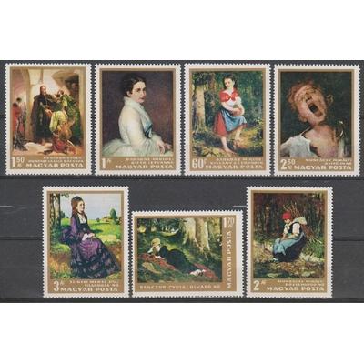 Hongrie - Tableaux - yt.1865/71 neufs ** - Cote €11.50