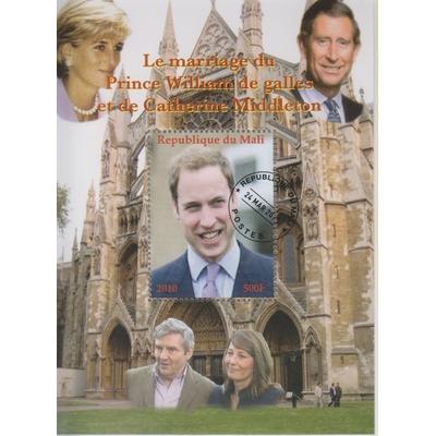 Mali - Lady Diana / Royauté - Feuillet de 2011