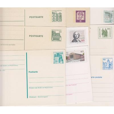 Allemagne - Lot d'entiers-postaux toutes époques