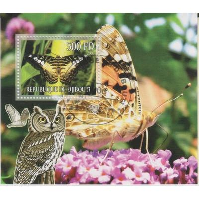 Djibouti - Papillons - Feuillet de 2006