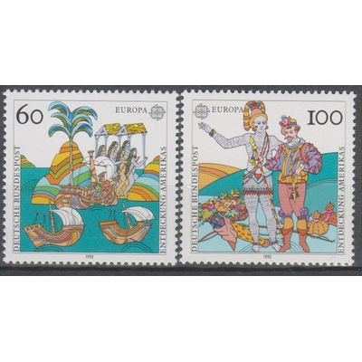Allemagne - Europa - yt.1436/37 neufs ** - Cote €5