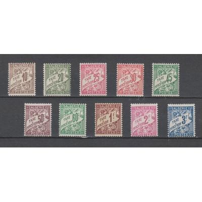 Algérie - Sélection de timbres taxe de 1926 neufs * - Cote €11.60