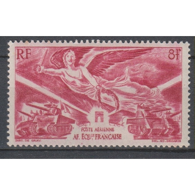 AEF - Victoire - yt.A43 neuf * - Cote €1.20