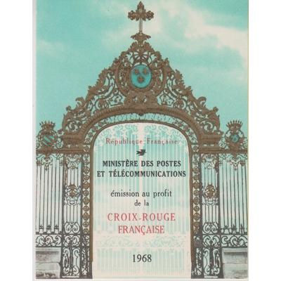 France - Croix Rouge de 1968 - Carnet yt.2017 neuf ** - Cote €8
