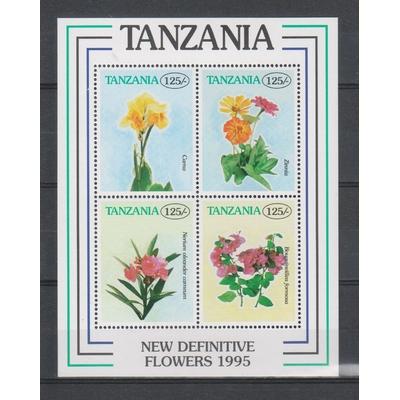 Tanzanie - Feuillet sur les fleurs neuf **