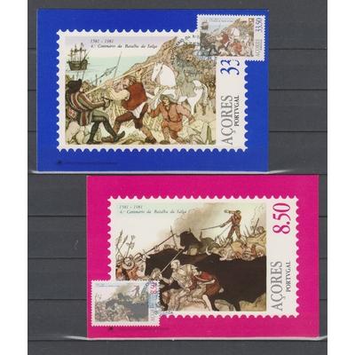 Açores - Bataille - 2 cartes maximums de 1981