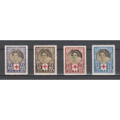 Roumanie - Croix Rouge de 1945 neufs ** - Cote €3