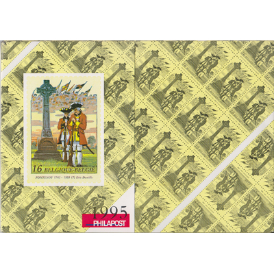 Belgique - Année complète neuve ** en livret de la poste - 1995 - Cote €74.40