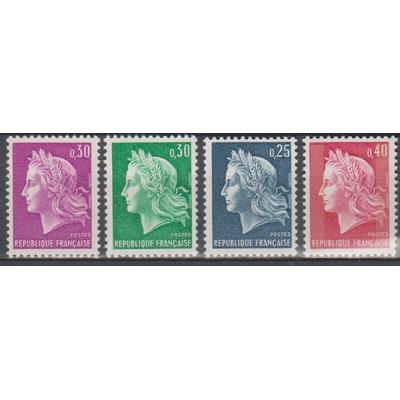 France - Marianne - yt.1535/36B neufs ** de 1967 - Cote €2