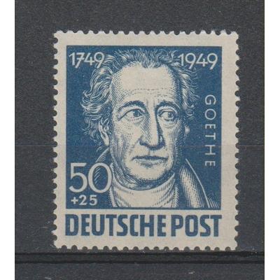 Allemagne orientale - Goethe yvert 55 de 1949 neuf ** - Cote €3