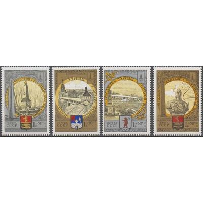Russie - Jeux olympiques - yt.4567/70 neufs ** de 1978 - Cote €16