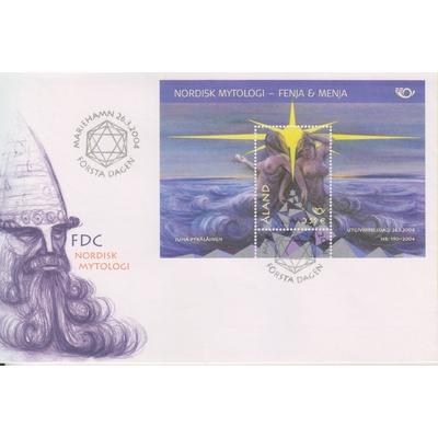 Aland - Mythologie - Enveloppe 1er-jour de 2004