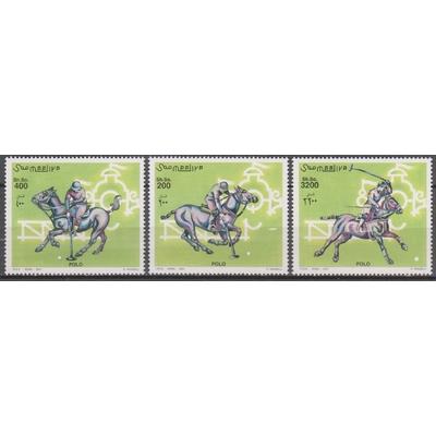 Somalie - Polo - yt.795/97 neufs ** de 2001 - Cote €18