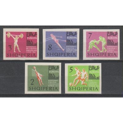 Albanie - Sports - yt.641/45 neufs ** de 1963 - Cote €10