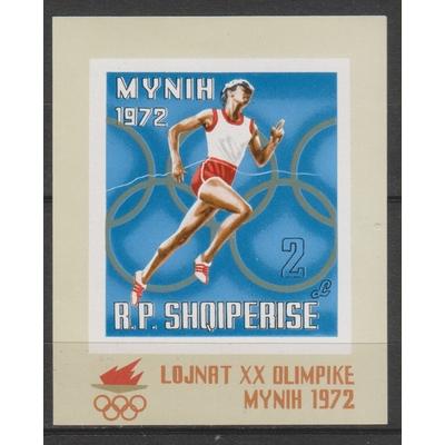 Albanie - Jeux olympiques - yt.BF18 neuf ** de 1971 - Cote €4