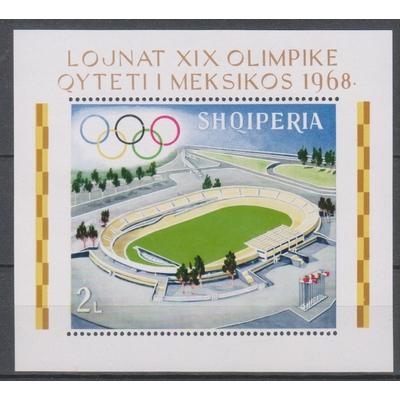 Albanie - Jeux olympiques - yt.BF9 neuf ** de 1968 - Cote €6