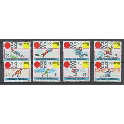 Rwanda - Jeux Olympiques de Sapporo neufs ** - Cote €4