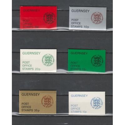 Guernsey - Collection de carnets neufs **