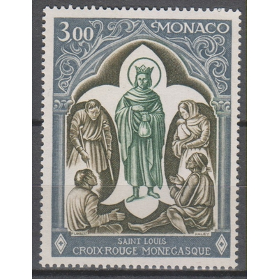 Monaco - Croix Rouge - yt.818 neuf ** de 1970 - Cote €2.20