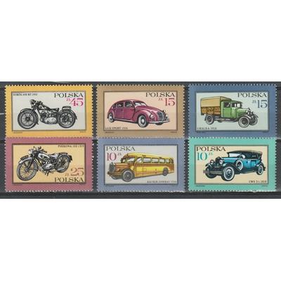 Pologne - Automobiles de 1987 neuves ** - Cote €4