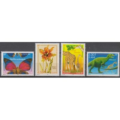 France - Faune et flore - yt.3332/35 neufs ** de 2000 - Cote €4.50