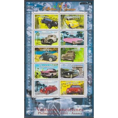 France - Automobiles - yt.BF30 neuf ** de 2000 - cote €6