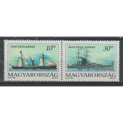 Hongrie - Bateaux de 1993 neufs **